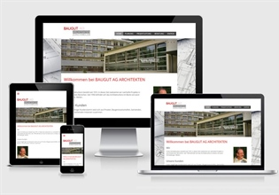 Neue Website Baugut AG
