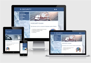 Neue Website R-SECURITY GmbH