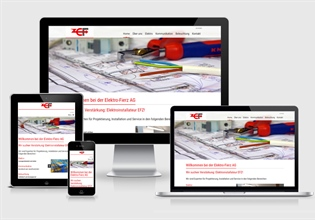Neue Website Elektro-Fierz AG