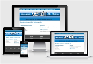 Neue Website Spenglerei Venzin AG