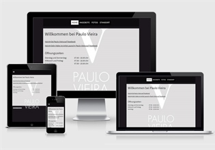 Neue Website Hairstylist Paulo Vieira