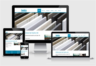 Neue Website hastro ag