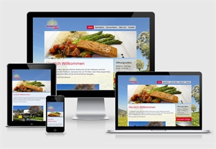 Neue Website Restaurant Albis