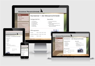 Neue Website Kürsteiner Messerschmiede