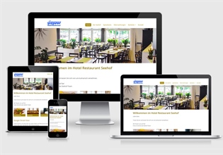 Neue Website Hotel Restaurant Seehof