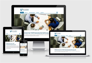 Neue Website Viar AG