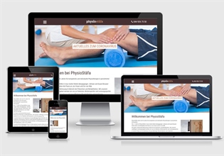 Neue Website Physiotherapie Stäfa