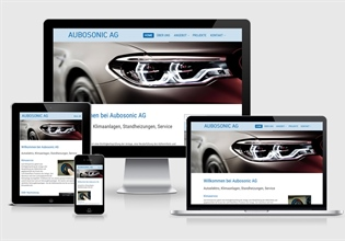 Neue Website Aubosonic AG