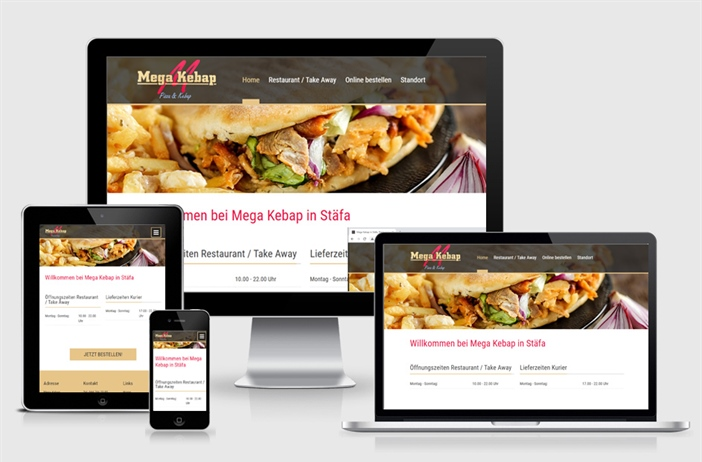Neue Website Mega Kebap